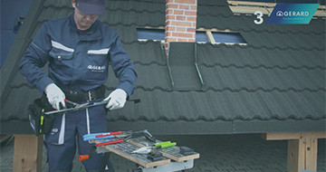 GERARD® Roofs – Примыкание к дымоходу