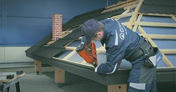 GERARD® Roofs –Соединение карнизных планок